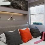 Earls Court Luxury Flat Bedroom - Katy Ellis Interior Design