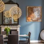 Earls Court Luxury Flat Dining Area - Katy Ellis Interior Design