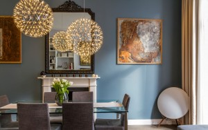Earls Court Luxury Flat Dining Area - Katy Ellis Interior Design