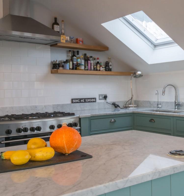 Chiswick Flat Kitchen - Katy Ellis Interior Design